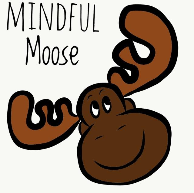 Mindful Moose - Drawing 146012668-01